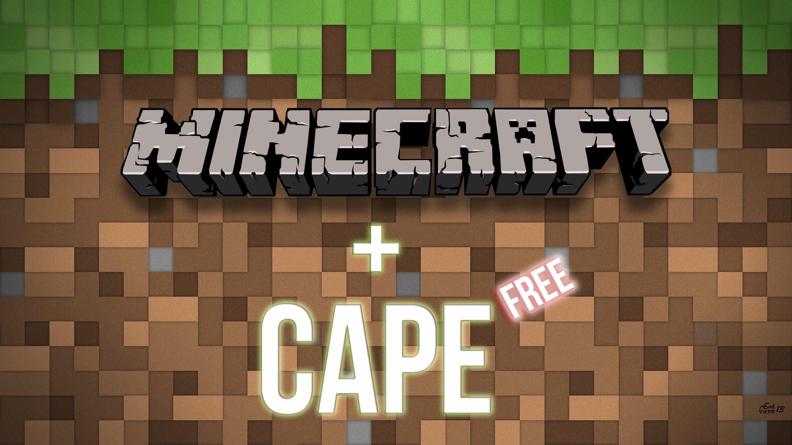 Minecraft Premium☆☆☆  Плащ(CAPE)