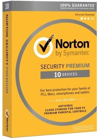 Купить Norton Security Premium 90 дней 10 ПК (не активирован)