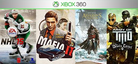 NHL 15 / Mafia 2 + 2 игры (XBOX 360) общий аккаунт.