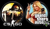 CS:GO + Grand Theft Auto 5 (Steam)