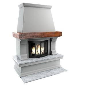 Fireplace  Professional, highly detailed 3Ds Max models for architectural visualizations by 3D Ground.