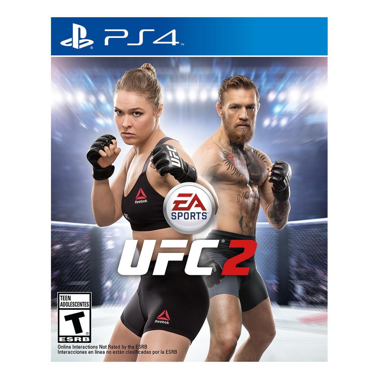 Аккаунт с игрой UFC 2 (PS4) АРЕНДА|ПРОКАТ
