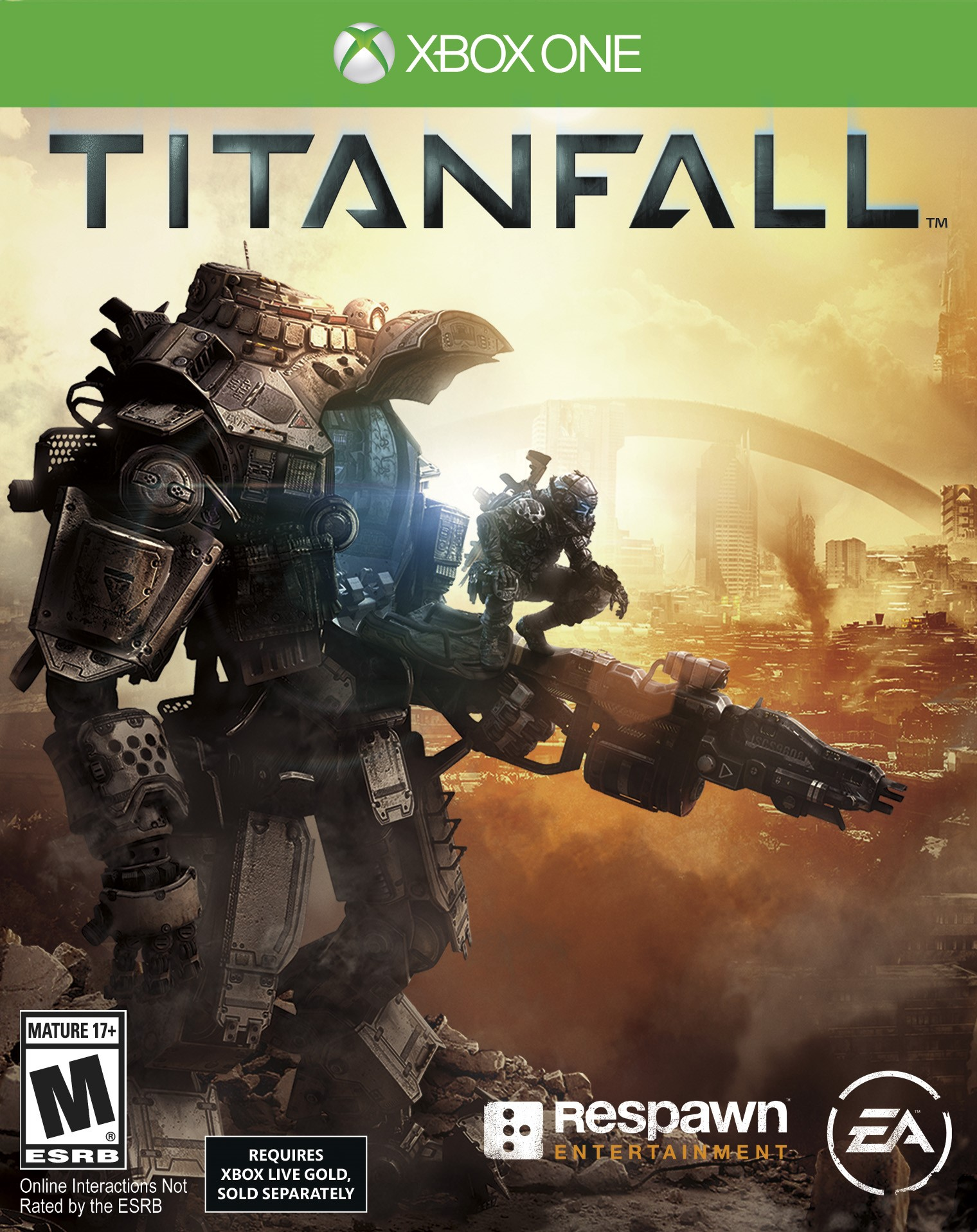 Titanfall Deluxe Edition XBOX ONE + 14 дней в подарок.