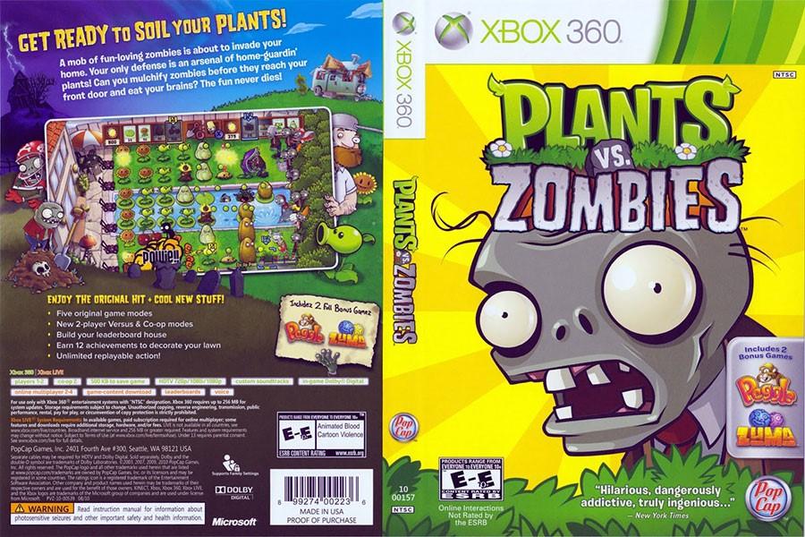 Plants vs. Zombies +7игр( Xbox One ) Обратная совместим