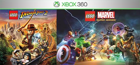 Lego Marvel / Lego Indiana Jones 2 (Xbox 360) общий акк