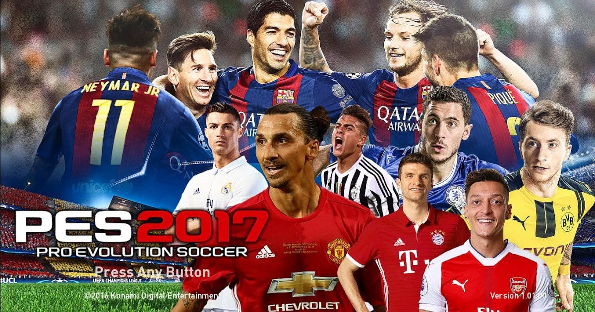 Pro Evolution Soccer 2017 [Steam аккаунт]