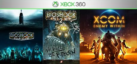 Bioshock / Bioshock 2 +1игра (Xbox 360) общий аккаунт