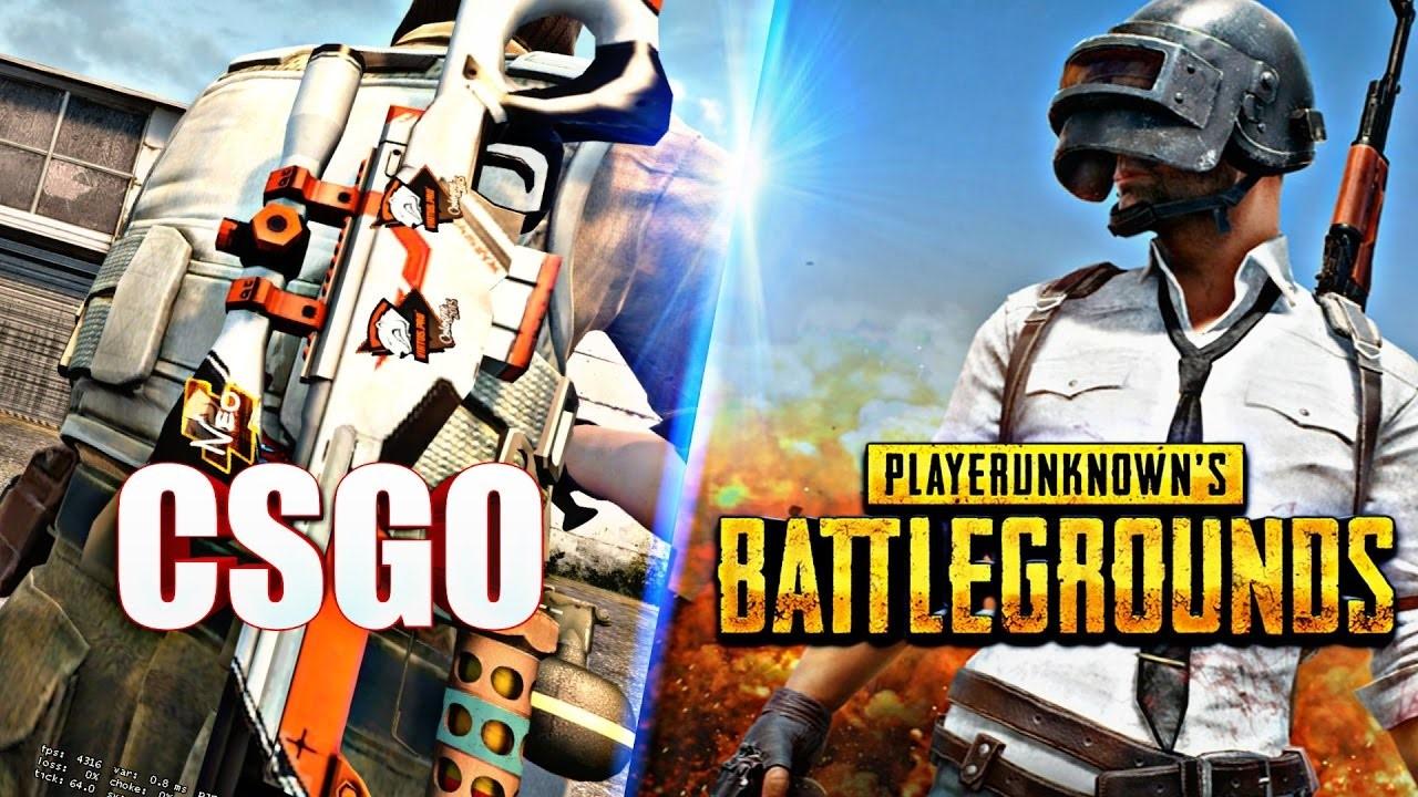 Counter-Strike Go + Playerunknowns battlegrounds