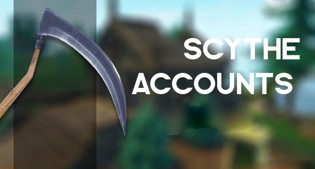 Fortnite аккаунт с Scythe Pickaxe