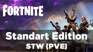Fortnite аккаунт с доступом к PVE (Standart Edition)