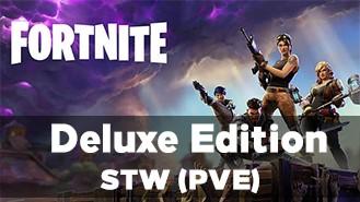 Fortnite аккаунт с доступом к PVE (Deluxe Edition)