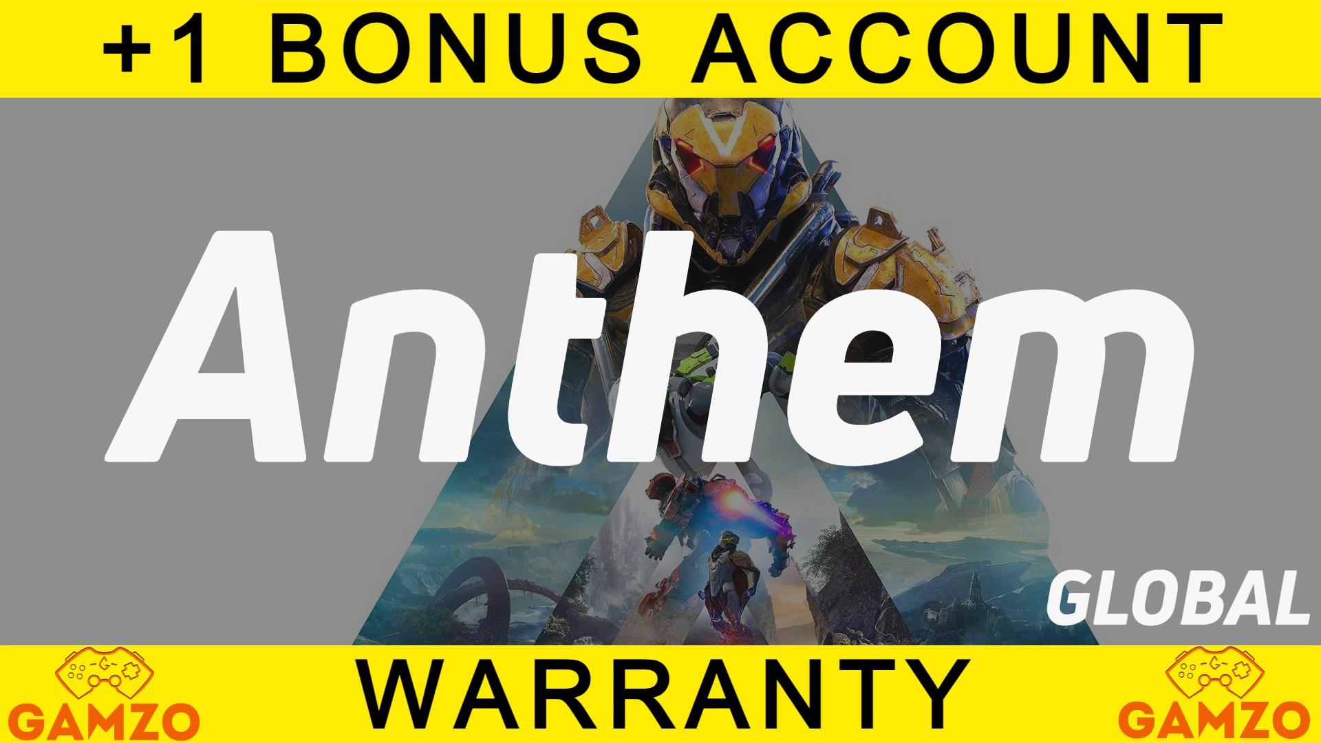 Anthem [Гарантия 5 лет] + Подарок Battlefield 1