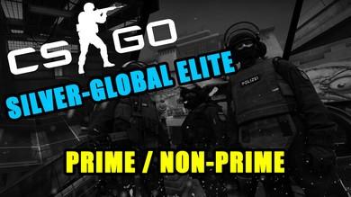 Рандом Аккаунт CS:GO от Silver до Global ( NotPrime )