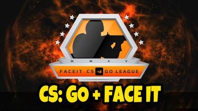 CS:GO + Привязан к faceit
