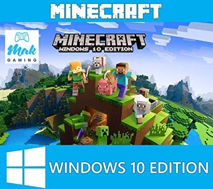 Minecraft: Windows 10 Edition. Лицензионный Key+ПОДАРОК