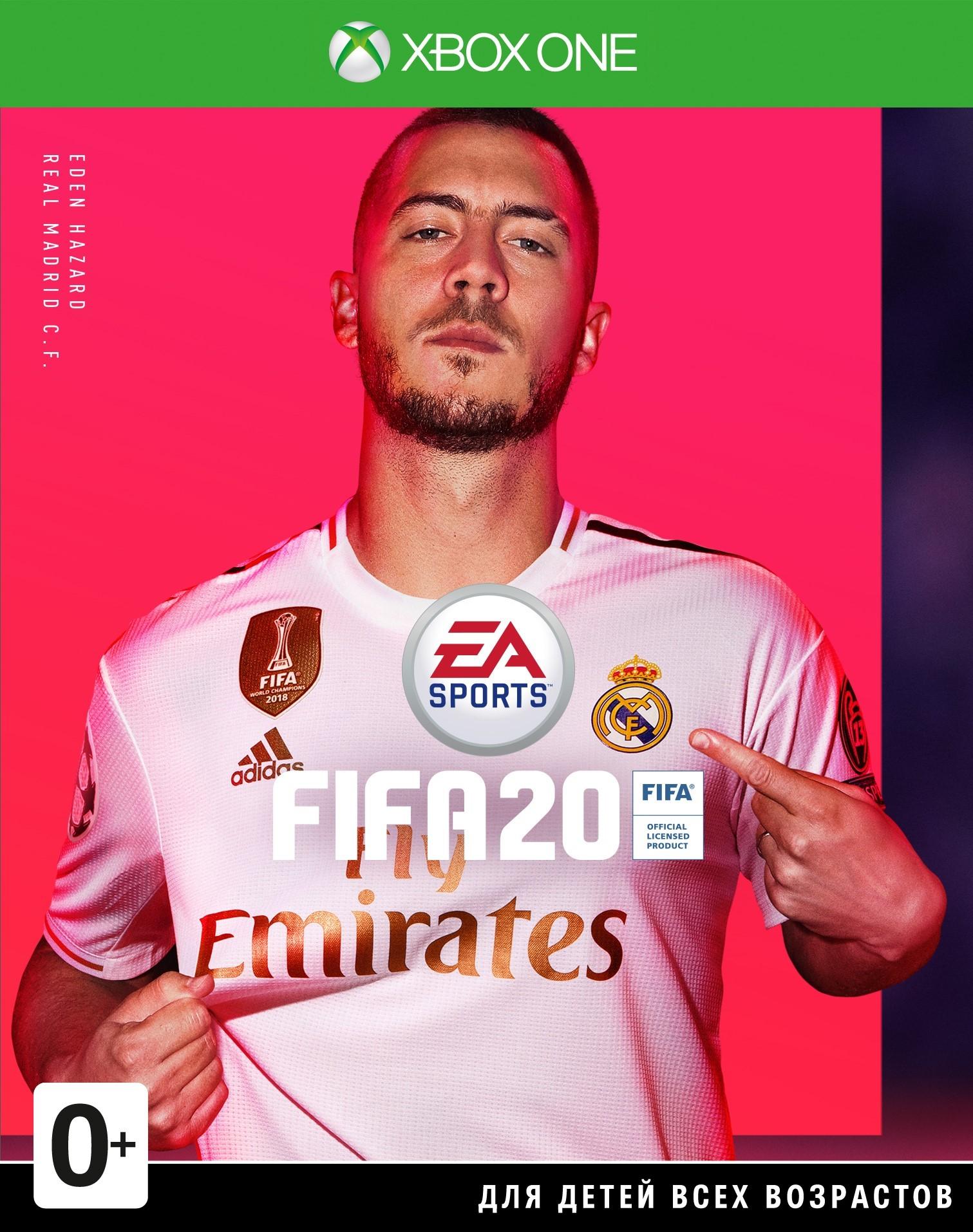FIFA 20 Xbox One Пожизненная Гарантия ⭐⭐⭐