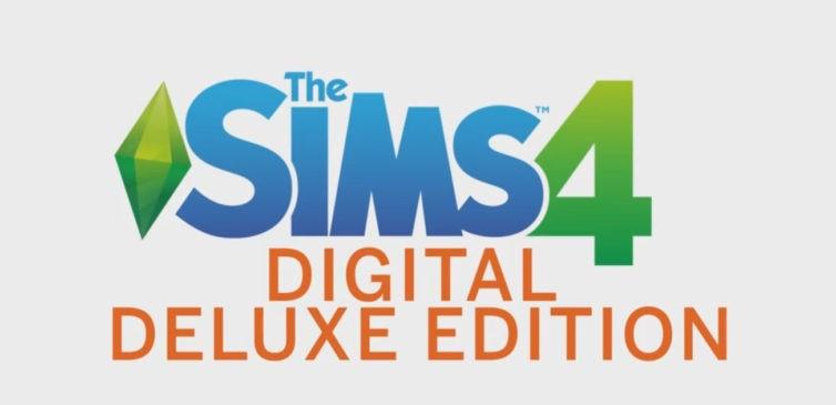 Купить The Sims 4 Digital Deluxe