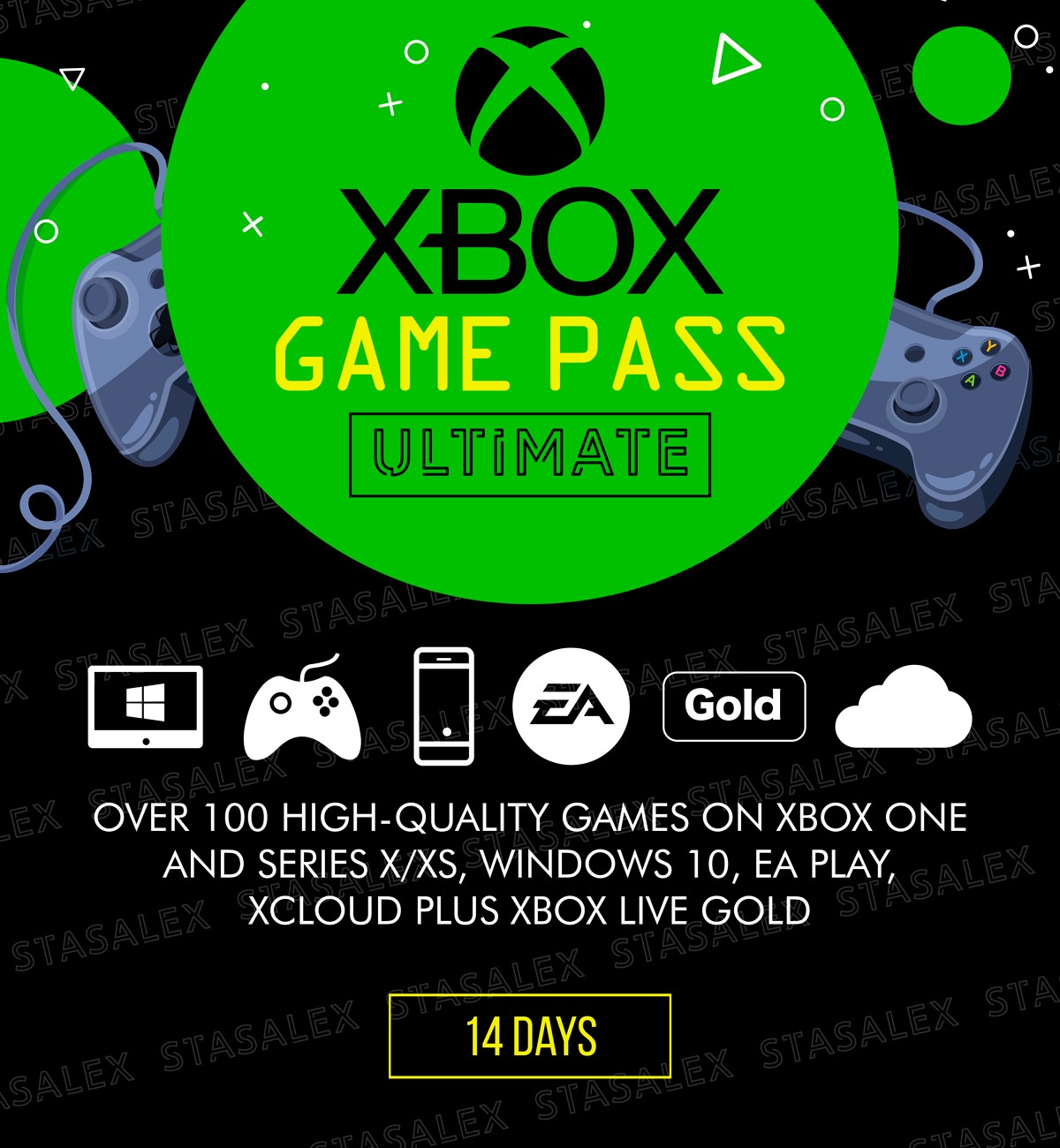 XBOX GAME PASS ULTIMATE 14 Дней + EA PLAY + 1 Месяц*🌎