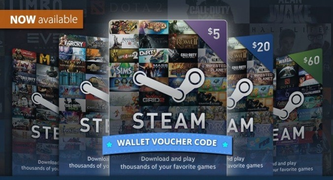 STEAM WALLET GIFT CARD 0.41$ GLOBAL BUT NO ARGENTINA
