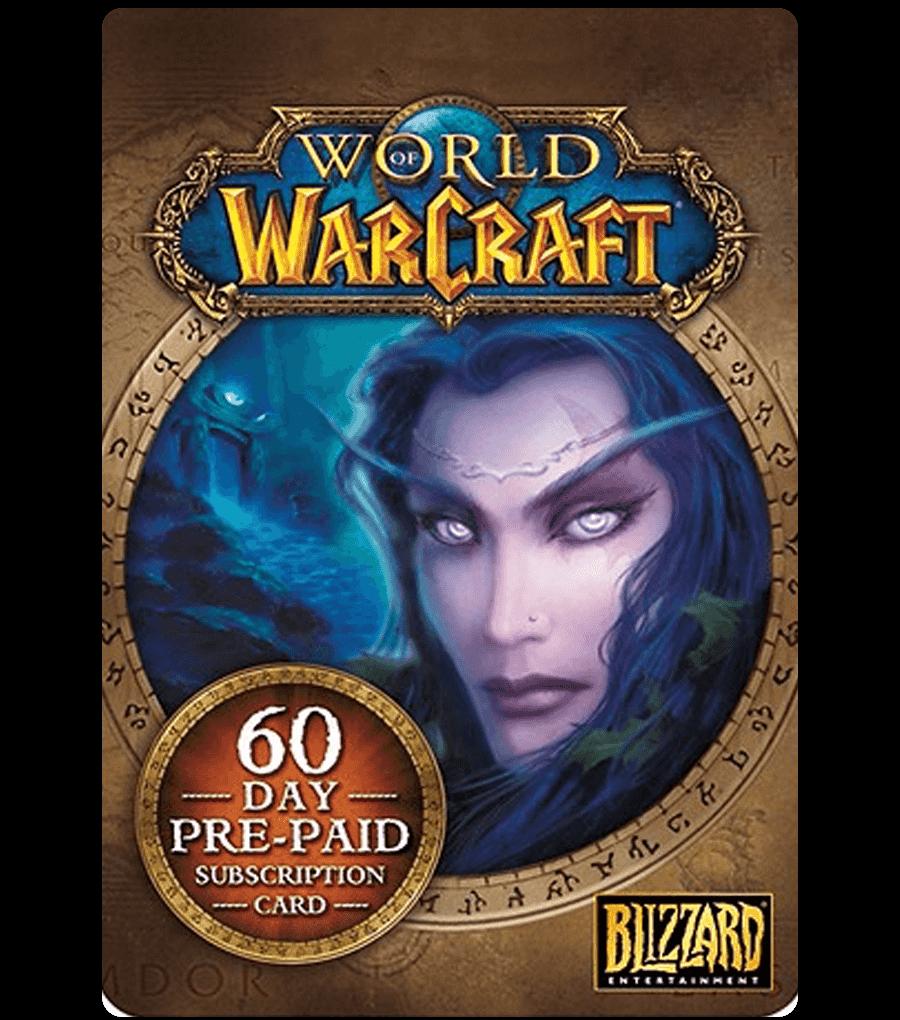 Купить WORLD OF WARCRAFT 60 DAYS TIME CARD (US) + WOW CLASSIC