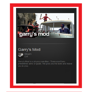 Купить Garry's Mod (Steam Gift/ RU-CIS)