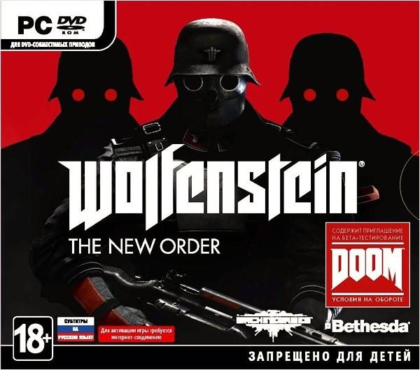 Wolfenstein: The New Order (Region Free) (Steam KEY)