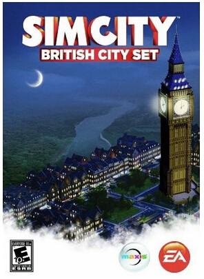 SimCity: набор Английский город DLC/WorldWide PHOTO Mul