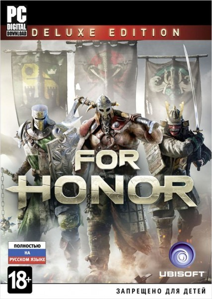 For Honor Deluxe Edition (Uplay KEY)   ПОДАРОК