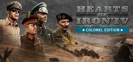 Hearts of Iron IV: Colonel Edition Оригинальный Ключ