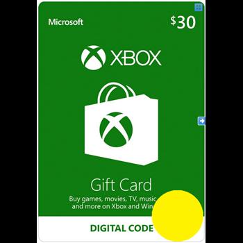 Купить Xbox $30 КАРТА ОПЛАТЫ - Digital Code USA