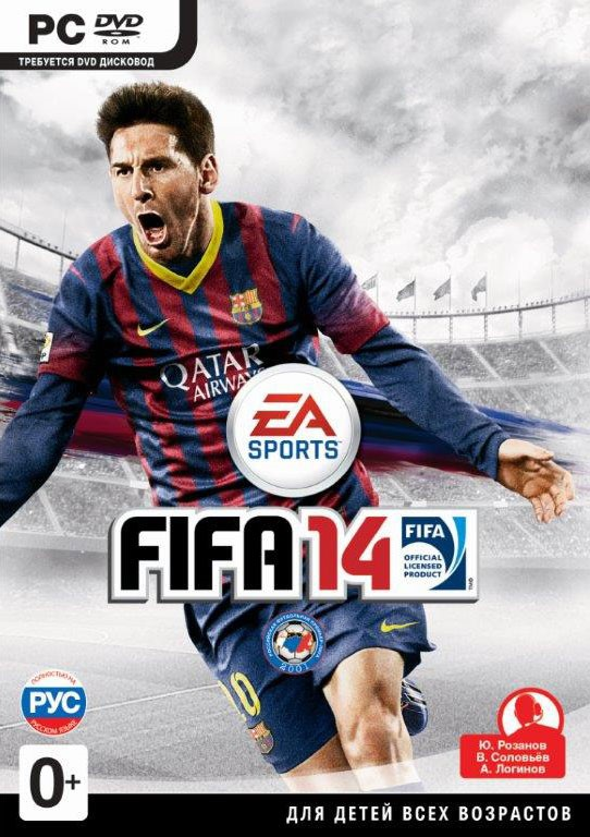 FIFA 14 Origin ключ Region free (есть русский язык)