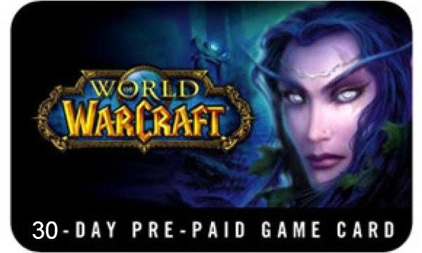 Игровое время 30 дней World of Warcraft ( Classic WoW )