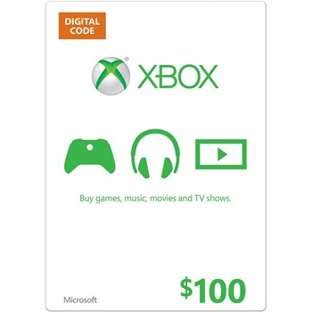 Купить XBOX LIVE CARD $100 (USA)   СКИДКИ