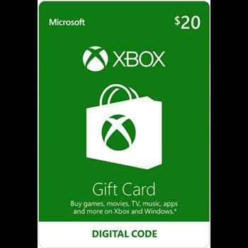 Купить 20 Xbox LIVE    USA   Карта оплаты?