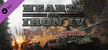 Hearts of Iron IV: Death or Dishonor Steam Key RU/CIS