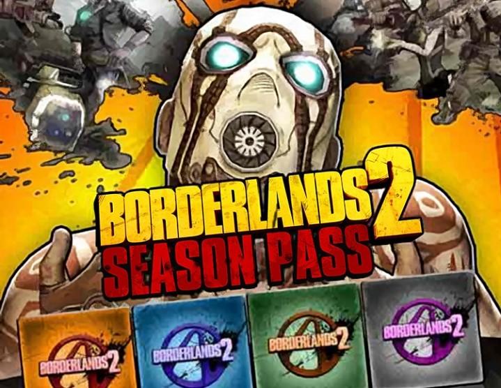 Borderlands 2 Season Pass (steam key) -- RU
