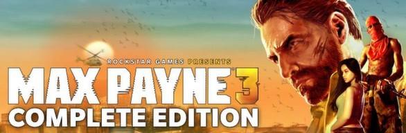 Max Payne 3 Complete (11 in 1) STEAM GIFT / RU