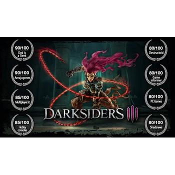 Купить Darksiders III Deluxe Edition (Steam UA KZ)