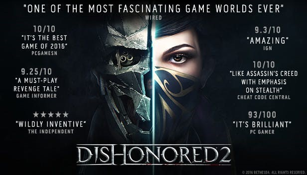 Dishonored 2  (Steam Gift Россия)