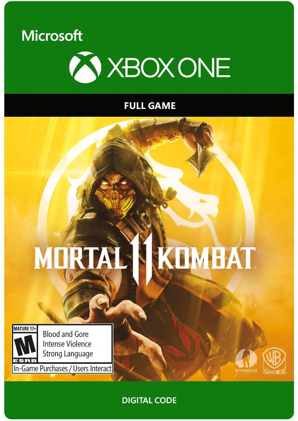 ? Mortal Kombat 11 ???>? XBOX ONE Ключ ??