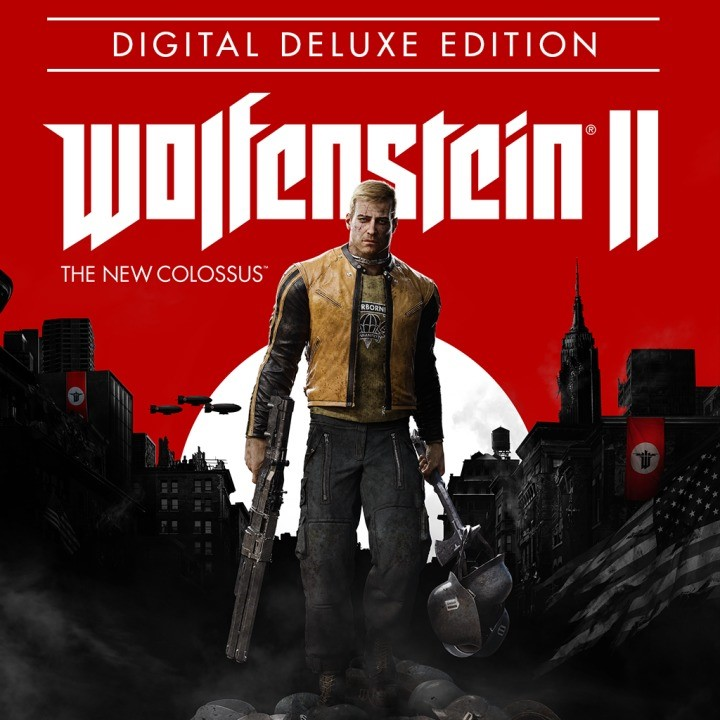 Wolfenstein II: The New Colossus Deluxe (Steam Gift RU)