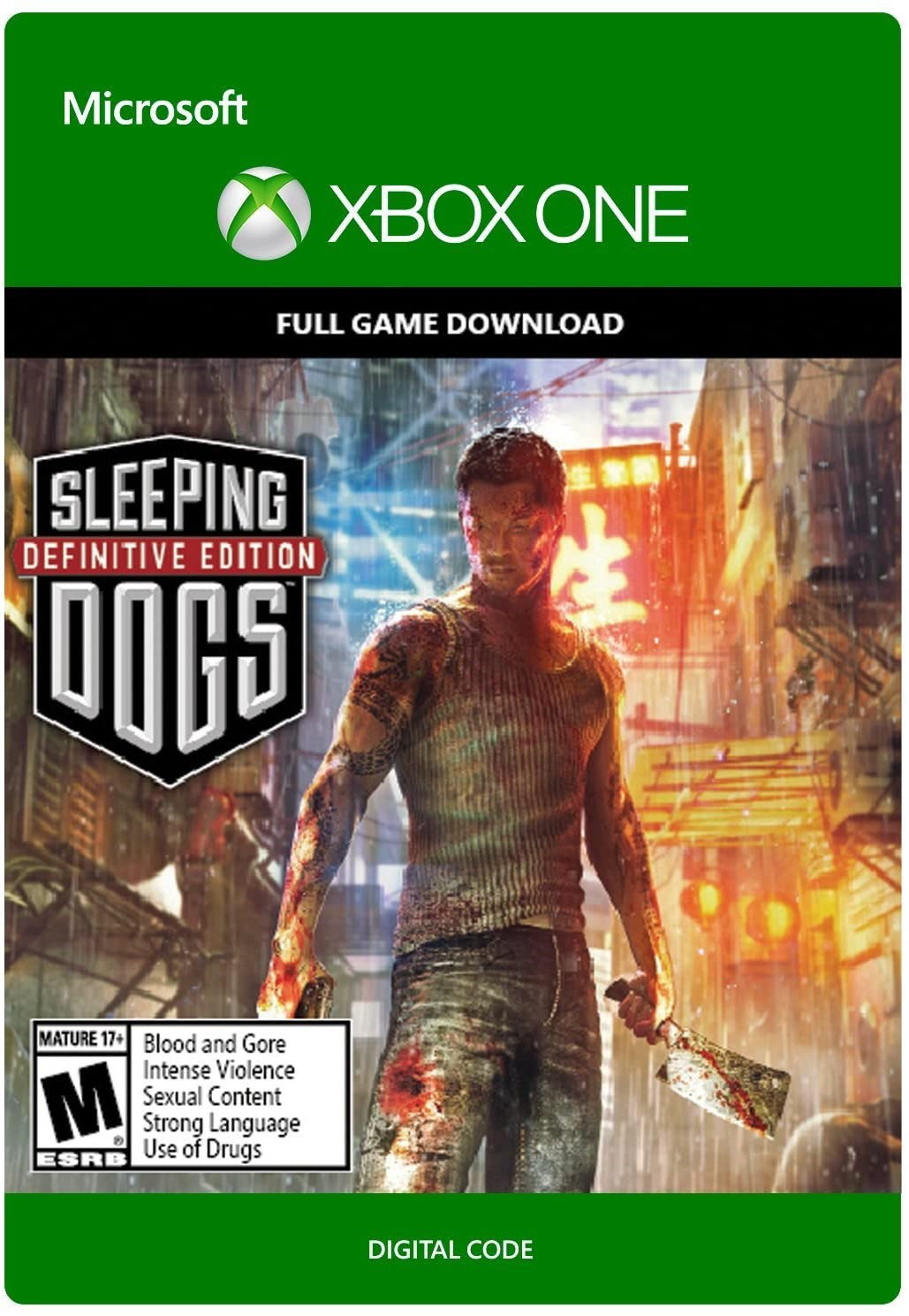 ? Sleeping Dogs Definitive Edition XBOX ONE ключ