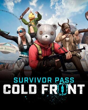 Survivor Pass 7: Cold Front PUBG -Все страны Официально
