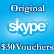 30 USD Genuine Cards for Skype.com 3*10$ ORIGINAL