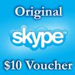 10 USD Genuine Card for Skype.com 1*10$ ORIGINAL