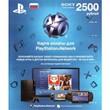👻PSN 2500 рублей Playstation Network Card 2500/RUS