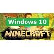 MINECRAFT WINDOWS 10 EDITION KEY  REGION FREE