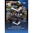 STEAM WALLET GIFT CARD £20 (GBP) | Discounts