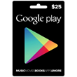 Google Play Gift $25