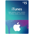 iTunes (US) 15$ Gift Card